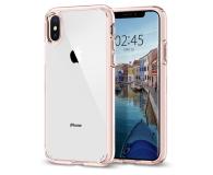 Spigen Ultra Hybrid do iPhone XS Rose Crystal  - 451999 - zdjęcie 1