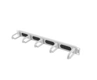 """Lanberg Organizer kabli Typ B 19"""" 1U szczotkowy (szary)  - 458039 - zdjęcie 1"""