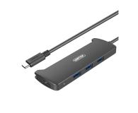 Unitek HUB USB-C 3.1 - 3 x USB 3.0 + HDMI - 458666 - zdjęcie 1