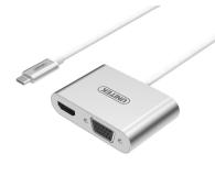 Unitek Adapter USB-C - HDMI, VGA - 457996 - zdjęcie 1
