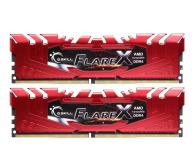 G.SKILL 32GB 2400MHz FlareX Black Ryzen CL15 Red (2x16GB)  - 458804 - zdjęcie 1