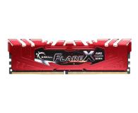 G.SKILL 32GB 2400MHz FlareX Black Ryzen CL15 Red (2x16GB)  - 458804 - zdjęcie 2