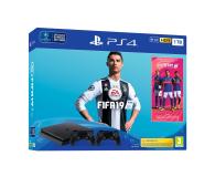 Sony Playstation 4 Slim 1TB + FIFA 19 + Kontroler - 459465 - zdjęcie 1