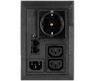 EATON 5E (850VA/480W, Schuko, 2xIEC, AVR, USB) - 452300 - zdjęcie 2