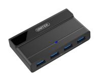 Unitek HUB USB 4 x USB 3.1 z zasilaczem - 458005 - zdjęcie 1
