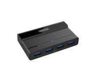 Unitek HUB USB 4 x USB 3.1 z zasilaczem - 458005 - zdjęcie 4