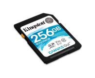 Kingston 256GB SDXC Canvas Go! 90MB/s C10 UHS-I U3  - 453784 - zdjęcie 2