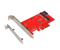 i-tec Adapter PCI-E SATA 2x M.2 Card PCI-E/SATA - 378032 - zdjęcie 1