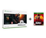 Microsoft Xbox One S 1TB + SotTR+Red Dead Redemption 2 - 453262 - zdjęcie 1