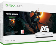 Microsoft Xbox One S 1TB + SotTR+Red Dead Redemption 2 - 453262 - zdjęcie 2