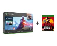Microsoft Xbox One X 1TB+BF5+BF1943+Red Dead Redemption 2 - 453268 - zdjęcie 1