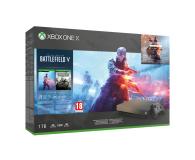 Microsoft Xbox One X 1TB+Battlefield 5+BF1943+Gears of War 4 - 460389 - zdjęcie 1