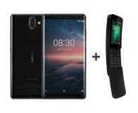 Nokia 8 Sirocco czarny + Nokia 8110 Dual Sim czarny - 461934 - zdjęcie 1