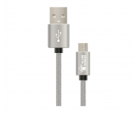 Silver Monkey Kabel micro USB do smartfona i tabletu 1,5m - 461256 - zdjęcie 1