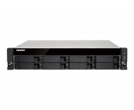 QNAP  TS-873U-RP(8xHDD, 4x2.1-3.4GHz, 8GB, 6xUSB,6xLAN) - 462061 - zdjęcie 2