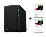 Synology DS218play 4TB (2xHDD, 4x1.4GHz, 1GB, 2xUSB, 1xLAN) - 463381 - zdjęcie 1
