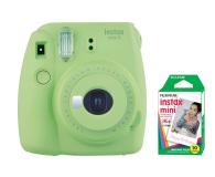Fujifilm Instax Mini 9 zielony + wkład 10 zdjęć  - 393602 - zdjęcie 1