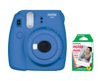 Fujifilm Instax Mini 9 ciemno-niebieski + wkład 10 zdjęć  - 393605 - zdjęcie 1