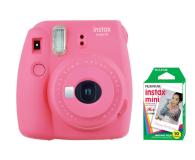 Fujifilm Instax Mini 9 różowy + wkład 10 zdjęć  - 393606 - zdjęcie 1