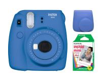 Fujifilm Instax Mini 9 ciemno-niebieski + 10PK + pokrowiec - 393615 - zdjęcie 1