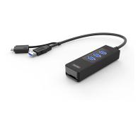 Unitek HUB 3x USB 3.0 + OTG + Czytnik Kart - 460167 - zdjęcie 1