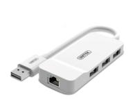 Unitek HUB 3x USB 2.0 + Ethernet - 460409 - zdjęcie 1