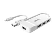 Unitek HUB 4x USB 2.0 - OTG microUSB - 460405 - zdjęcie 1