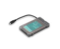 """i-tec Obudowa do dysku 2.5"""" MySafe (USB-C, czarny) - 460614 - zdjęcie 2"""