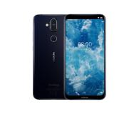 Nokia 8.1 Dual SIM Granatowy - 468477 - zdjęcie 1