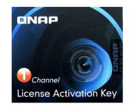 QNAP Licencja Camera License Pack (1 dodatkowa kamera) - 346540 - zdjęcie 1
