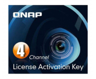 QNAP Licencja Camera License Pack (4 dodatkowe kamery) - 346542 - zdjęcie 1