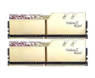 G.SKILL 16GB (2x8GB) 3200MHz CL14 TridentZ Royal Gold  - 470214 - zdjęcie 1