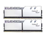G.SKILL 16GB (2x8GB) 3600MHz CL18 TridentZ Royal Silver - 470232 - zdjęcie 1