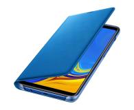 Samsung Wallet Cover do Samsung Galaxy A9 niebieskie - 465626 - zdjęcie 1