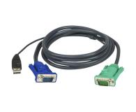 ATEN Kabel HD15 - SVGA + mysz + klaw USB 2.0m - 220789 - zdjęcie 1