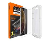 Spigen Szkło GLAS.TR EZ FIT do iPhone Xs Max + Aplikator  - 463558 - zdjęcie 1