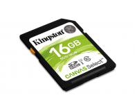 Kingston 16GB SDHC Canvas Select 80MB/s C10 UHS-I U1 - 408966 - zdjęcie 2