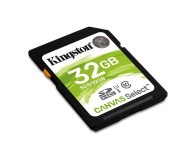 Kingston 32GB SDHC Canvas Select 80MB/s C10 UHS-I U1  - 408969 - zdjęcie 2
