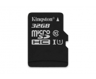 Kingston 32GB microSDHC Canvas Select 80MB/s C10 UHS-I  - 408958 - zdjęcie 1