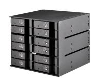 SilverStone 12x2.5'' HDD/SSD SATA - 406489 - zdjęcie 1