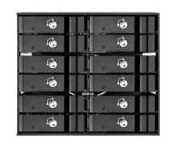 SilverStone 12x2.5'' HDD/SSD SATA - 406489 - zdjęcie 2