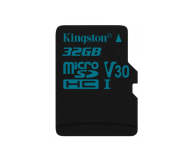 Kingston 32GB microSDHC Canvas Go! 90MB/s C10 UHS-I V30 - 410713 - zdjęcie 1