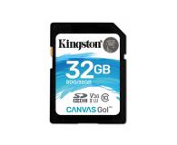 Kingston 32GB SDHC Canvas Go! 90MB/s C10 UHS-I U3  - 410717 - zdjęcie 1