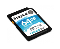 Kingston 64GB SDXC Canvas Go! 90MB/s C10 UHS-I U3  - 410718 - zdjęcie 2