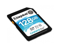 Kingston 128GB SDXC Canvas Go! 90MB/s C10 UHS-I U3  - 410720 - zdjęcie 2