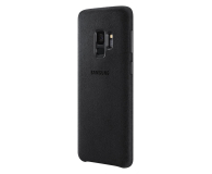 Samsung Alcantara Cover do Galaxy S9 Black - 405909 - zdjęcie 1