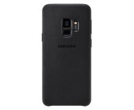Samsung Alcantara Cover do Galaxy S9 Black - 405909 - zdjęcie 2