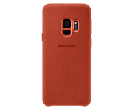 Samsung Alcantara Cover do Galaxy S9 Red - 405912 - zdjęcie 2