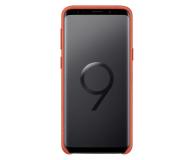 Samsung Alcantara Cover do Galaxy S9 Red - 405912 - zdjęcie 3