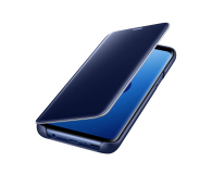 Samsung Clear View Standing Cover do Galaxy S9 Blue - 404406 - zdjęcie 1